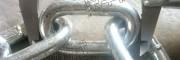 新疆锡林浩特直销刮板输送机圆环链 18*64无缝链条 哑铃销